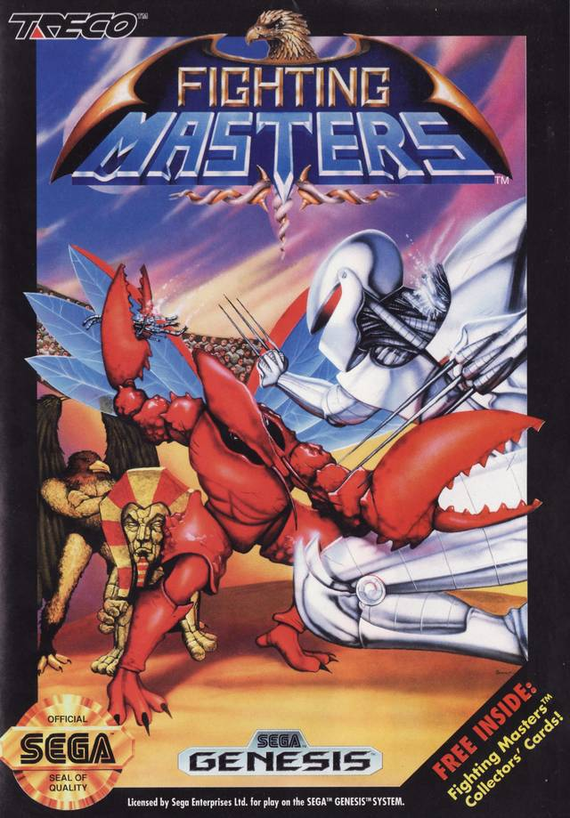 Fighting Masters Capa Genesis