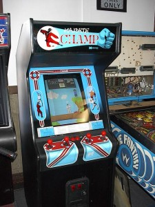 Karate Champ Machine
